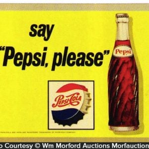 Say Pepsi Please Sign