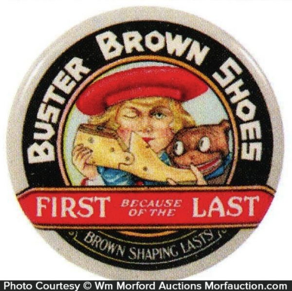 Buster Brown Pocket Mirror
