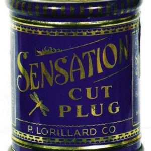 Sensation Tobacco Tin Can