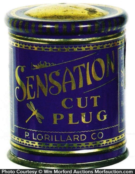 Sensation Tobacco Tin Can