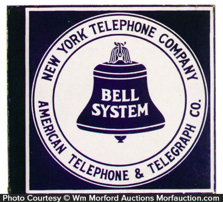 Bell System Telephone Sign