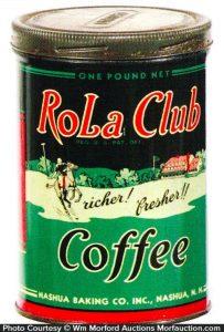 Rola Club Coffee Tin