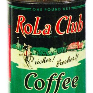 Rola Club Coffee Tin