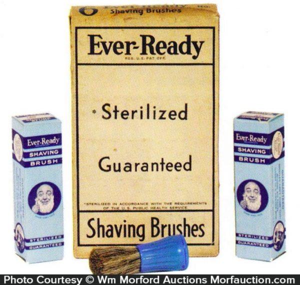 Ever-Ready Shaving Brushes