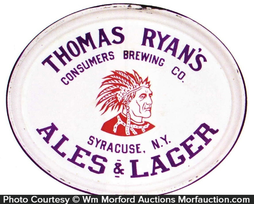 Thomas Ryan's Ales Beer Tray