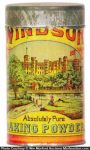 Windsor Baking Powder Tin