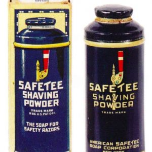 Safetee Shaving Powder Tin