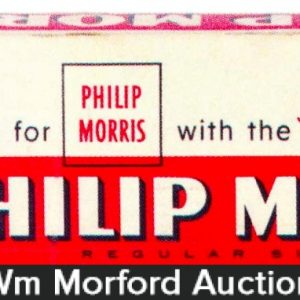 Philip Morris Johnny Cigarette Carton