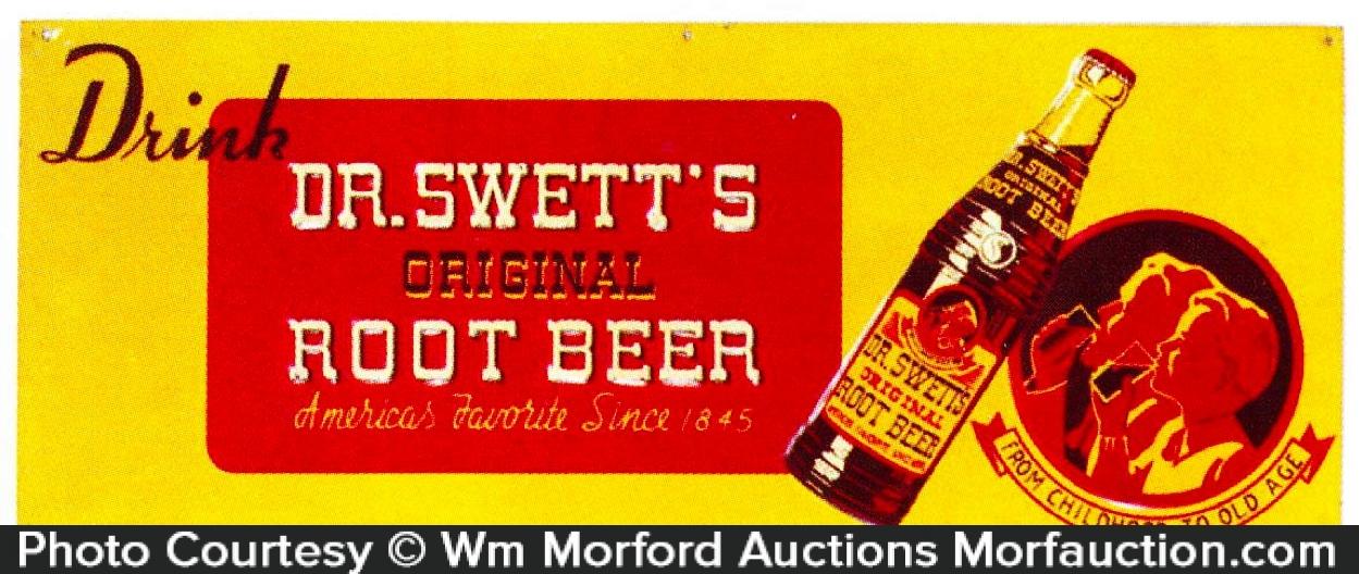 Dr. Swett's Root Beer Sign