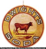 Dwight's Soda Sign