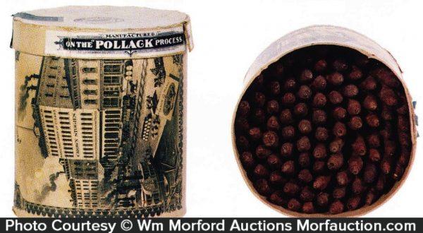 Pollack Cigar Can