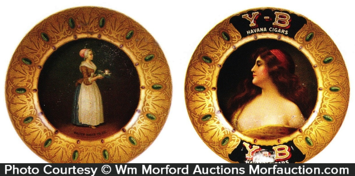 Vintage Advertising Art Plates