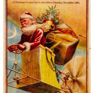 Miller Bros. Santa Sign