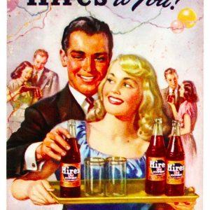 Hires Root Beer Sign