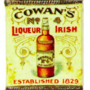 Cowan's Liqueur Irish Match Safe