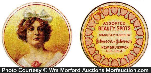 Johnson & Johnson Beauty Spots Tin