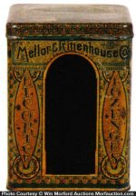 Mellor & Rittenhouse Lozenge Tin
