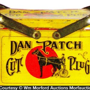 Dan Patch Tobacco Tin Pail