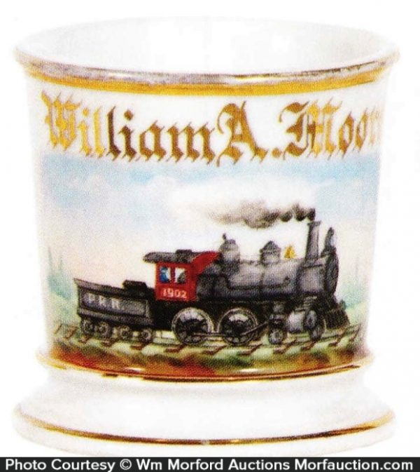 Train Shaving Mug