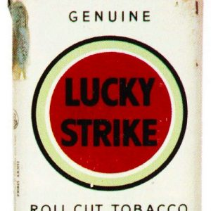 White Lucky Tobacco Tin