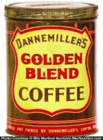 Golden Blend Coffee Can