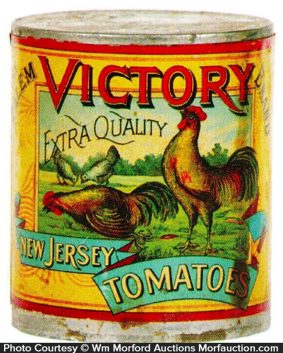 Victory Tomatoes Tin