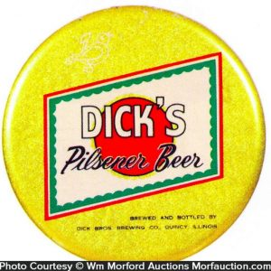 Dick's Pilsner Beer Sign