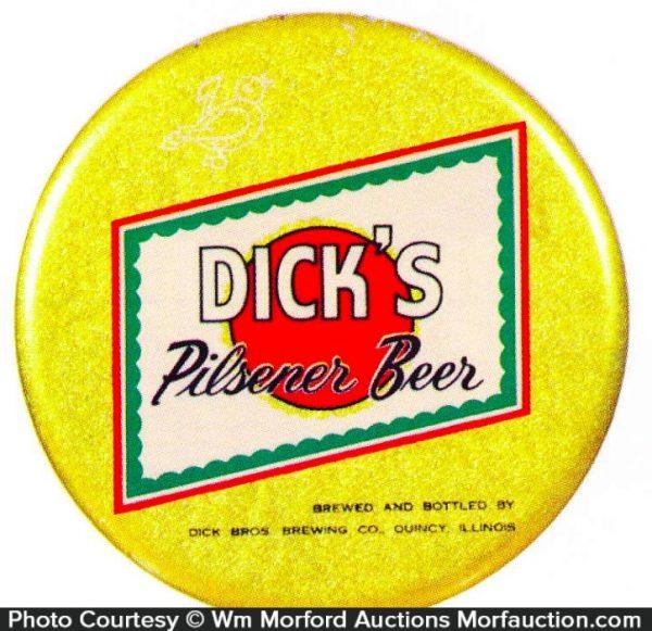 Dick's Pilsner Beer Sign