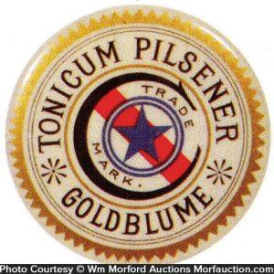 Gold Blume Pilsener Mirror