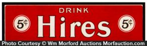 Drink Hires Sign