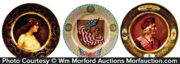 Vintage Art Plates