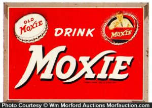 Drink Old Moxie Sign