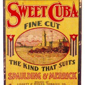 Sweet Cuba Tobacco Bin