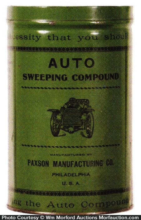 Auto Sweeping Compound Tin