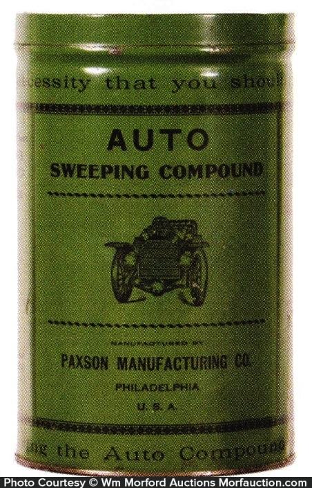 Auto Sweeping Compound Tin