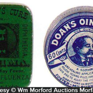 Vintage Medicine Tins