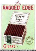 Ragged Edge Cigar Sign