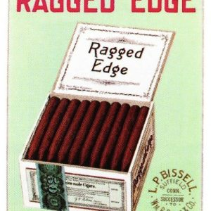 Ragged Edge Cigar Sign