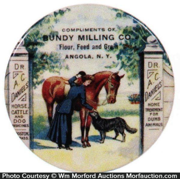Dr. Daniels Bundy Milling Mirror