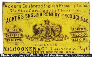 Acker's English Remedy Tin