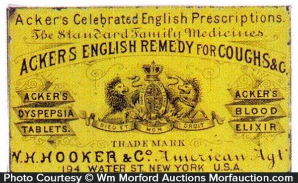 Acker's English Remedy Tin
