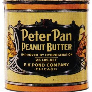 Peter Pan Peanut Butter Tin Can