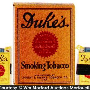 Duke's Tobacco Display Box