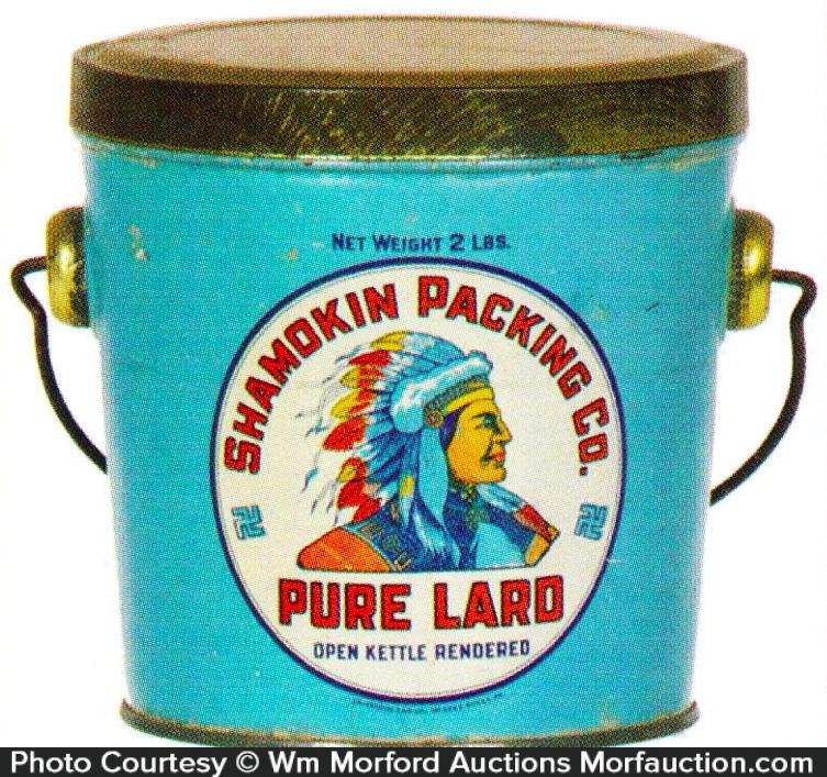 Shamokin Lard Pail