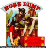 Boss Lump Tobacco Sign