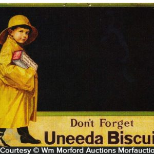 Uneeda Biscuit Sign