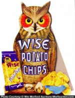 Wise Potato Chips Sign