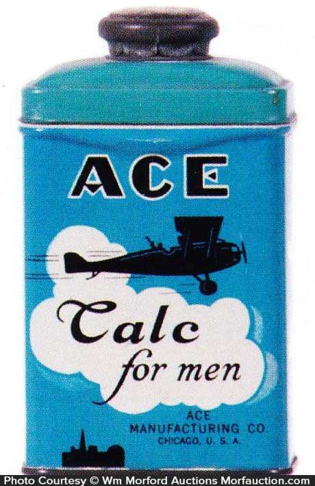 Ace Talc For Men Tin
