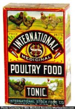International Poultry Food Tonic Box