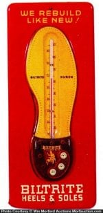 Biltrite Heels & Soles Shoe Thermometer